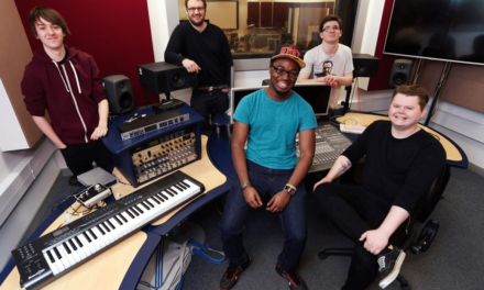 Student record label reaches new heights
