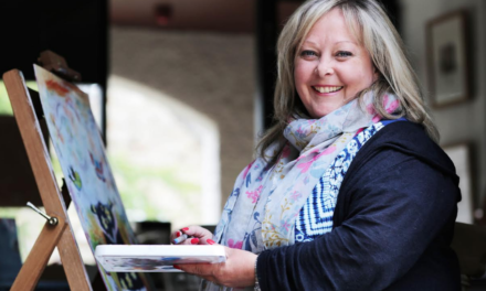 Art is in the heart for former office worker Dawn