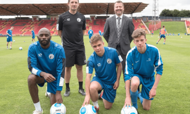College teams up with Gateshead FC to create football stars of the future
