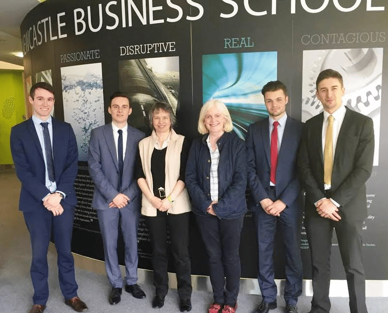 Business School students help top North East charity diversify to thrive