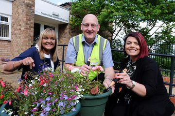 DIY SOS style project helps spruce up community centre