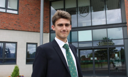 Academy's first Oxford Uni student returns to share his experience