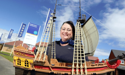 Leading Housebuilder Seeks Children's Help to Welcome Tall Ships Regatta