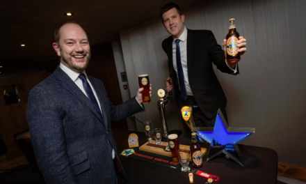 Newcastle Brown pours from Tyne Brewery site