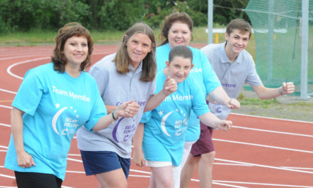 Relay-ing a message of hope in fight against cancer