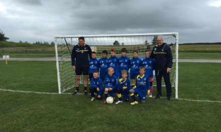 Junior football team scores sponsorship deal with local Technology firm