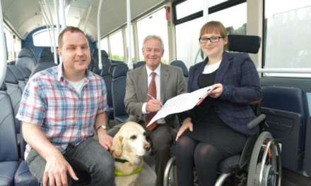 Go North East signs RNIB's accessibility charter