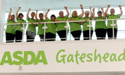 Local Colleagues Celebrate over 450 Years of Service At Asda Gateshead