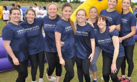 Darlington Law Firm is a Knockout for Hospice Fund
