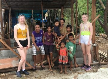 Teesside schoolgirls bring light and shelter to typhoon victims