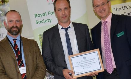 Royal seal of approval for EGGER-managed woodland