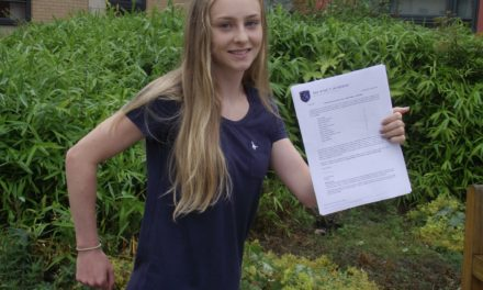 Libby Runs Away with it as Students Celebrate Top GCSE Results