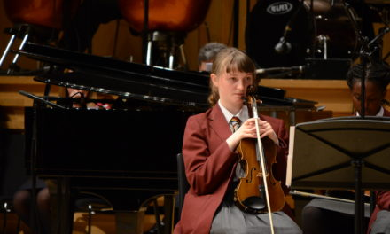 Student selected for prestigious music college