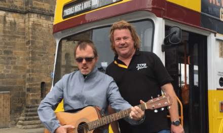 """Him off the Viz"" conducts another 'once only' Toon bus tour"