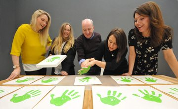 Helping Hand: Unwritten creates branding campaign for Graham Wylie Foundation
