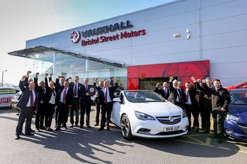 Bristol Street Motors Vauxhall Newcastle Recognised for Outstanding Customer Service