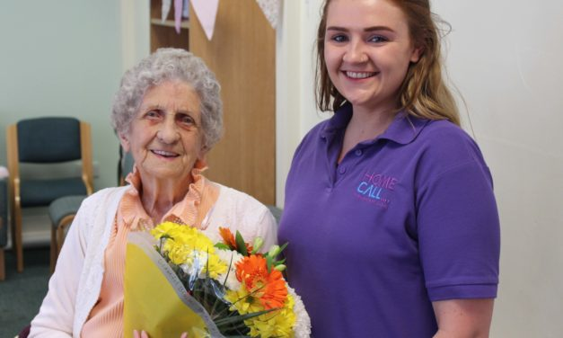 HomeCall helps Loftus resident celebrate 100th birthday