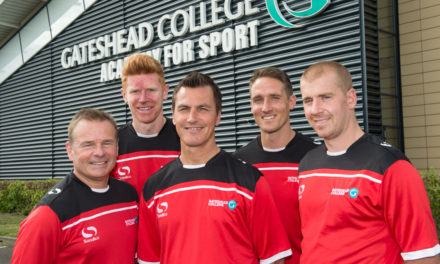 New football coaching team set to inspire next generation