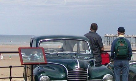 Vintage vehicles hit the road for classic car show