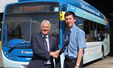 North East Bus Team Help to Drive up the Standards