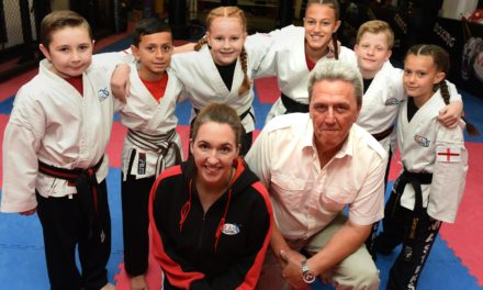 Middlesbrough Crane Driver Helps Local Karate Kids Reach World Championships