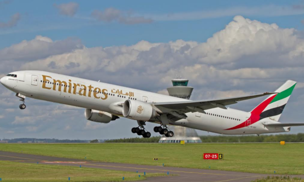 Emirates celebrates record month flying out of Newcastle