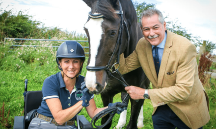Rutherfords rides to rescue of Morpeth Para Dressage rider with fundraising event