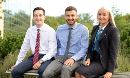 Graduate Trainees Sign Up with Newcastle Building Society