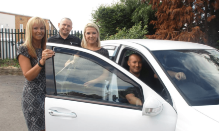Thornaby Gran Wins Merc in Autism Charity Raffle… Then gives it away!
