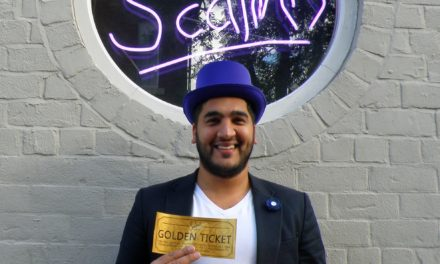 Golden tickets could win diners free pizza for a year