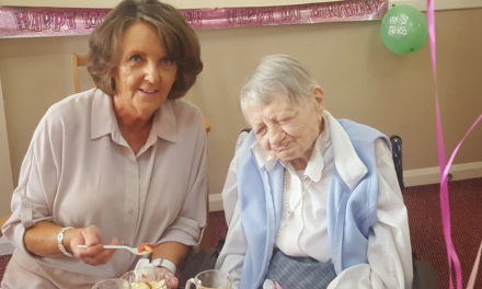 Teesside turn out to celebrate Mary's 100th Birthday