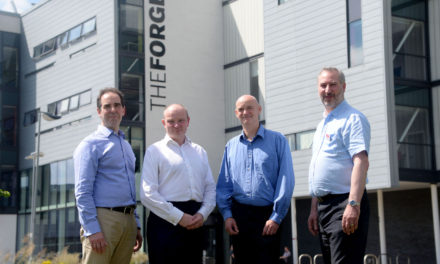 University research partnership is helping an SME take off