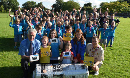 Eco Gifts Help North Tyneside Scout and Guides All Year Round