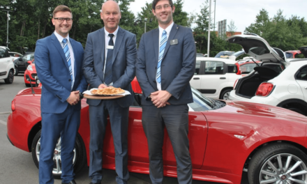 Launch of Richard Hardie's new Fiat and Abarth centre a successful Italian job