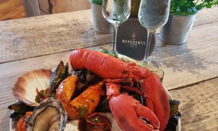Seafood and eat it at Merchants Tavern
