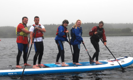 Banks Group Stands up for Northumberland Paddle Boarders