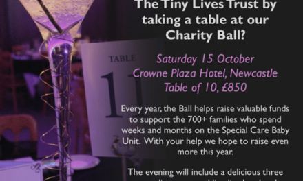 Tickets still available for Tiny Lives Charity Ball