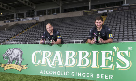 Newcastle Falcons and Crabbie's agree new official partnership