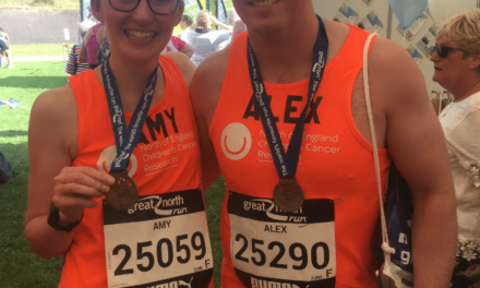 Kielder Marathon Rounds off a Year of Fundraising Inspired by Northumberland Child