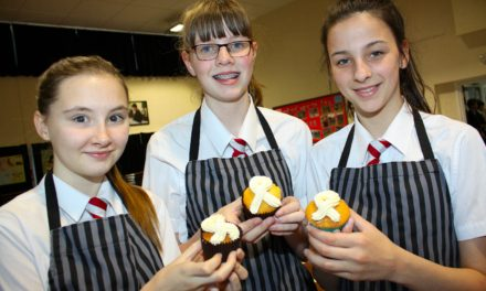 Bake off students raise cash for cancer charity