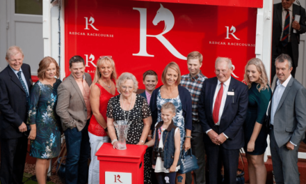 Yorkshire trainer David Barron scoops top prize at Redcar Racecourse on Two Year Old Trophy Day