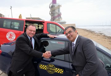 Boro Taxis announces merger with J & P