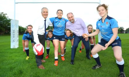 University women's rugby team look 'scrum'tious