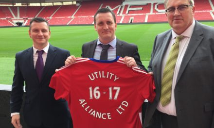 Utility Alliance plugs into the Premier League  after signing up with Middlesbrough FC