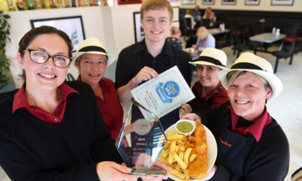 Artisan Bakery Scoops Fish and Chip Accolade