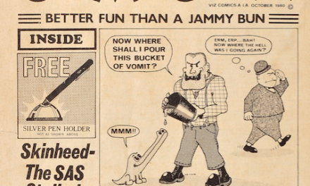 A Rare Copy of a Viz comic Sells for a Record £900 at Anderson & Garland