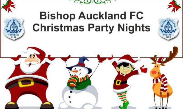 Bishop Auckland FC Christmas & New Years Eve Events