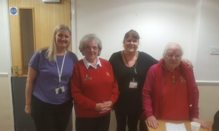 Fundraiser for RNLI at Hartlepool care home