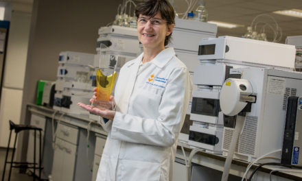 Professor Roz Anderson's work to treat a rare and fatal disease is recognised with a Women in STEM WIN Award
