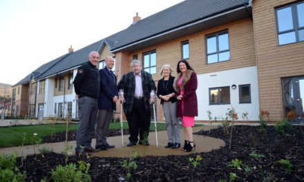 Specialist housing scheme in Eston nears completion